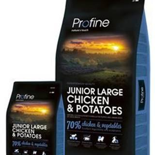 Profine NEW Dog Junior Large Chicken & Potatoes 3 kg