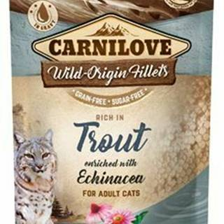 Carnilove Cat Pouch Trout Enriched & Echinacea 85g