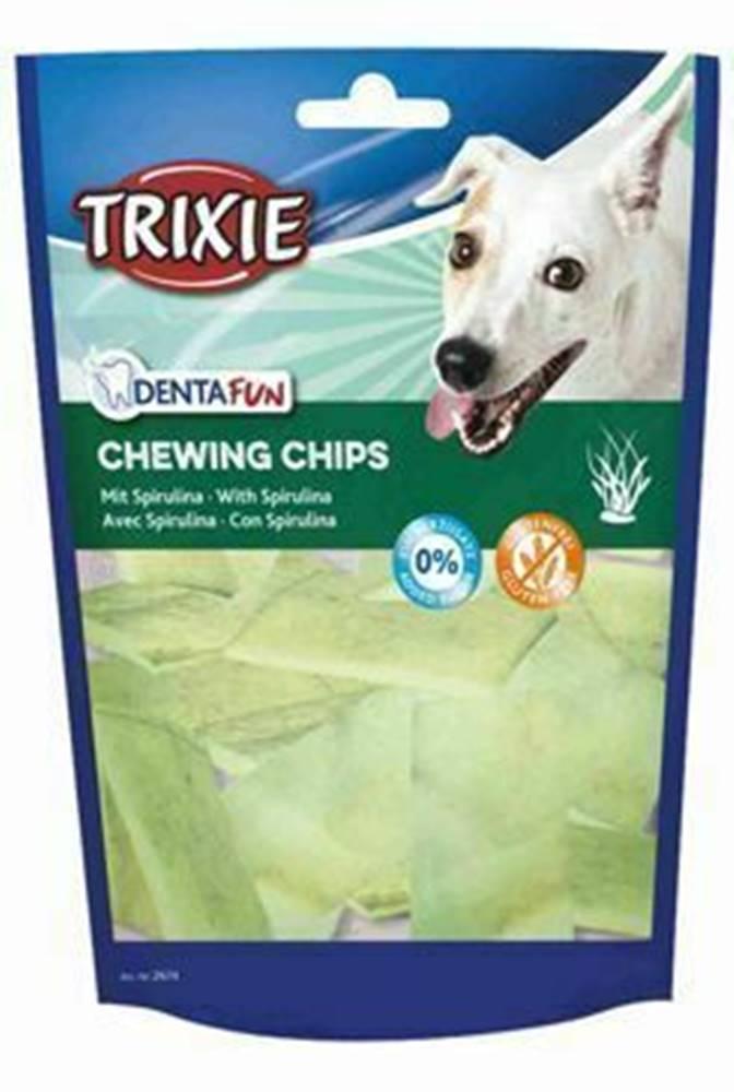 Trixie Dentafun Žvýkací plátky s řasou malí psi 50g TR