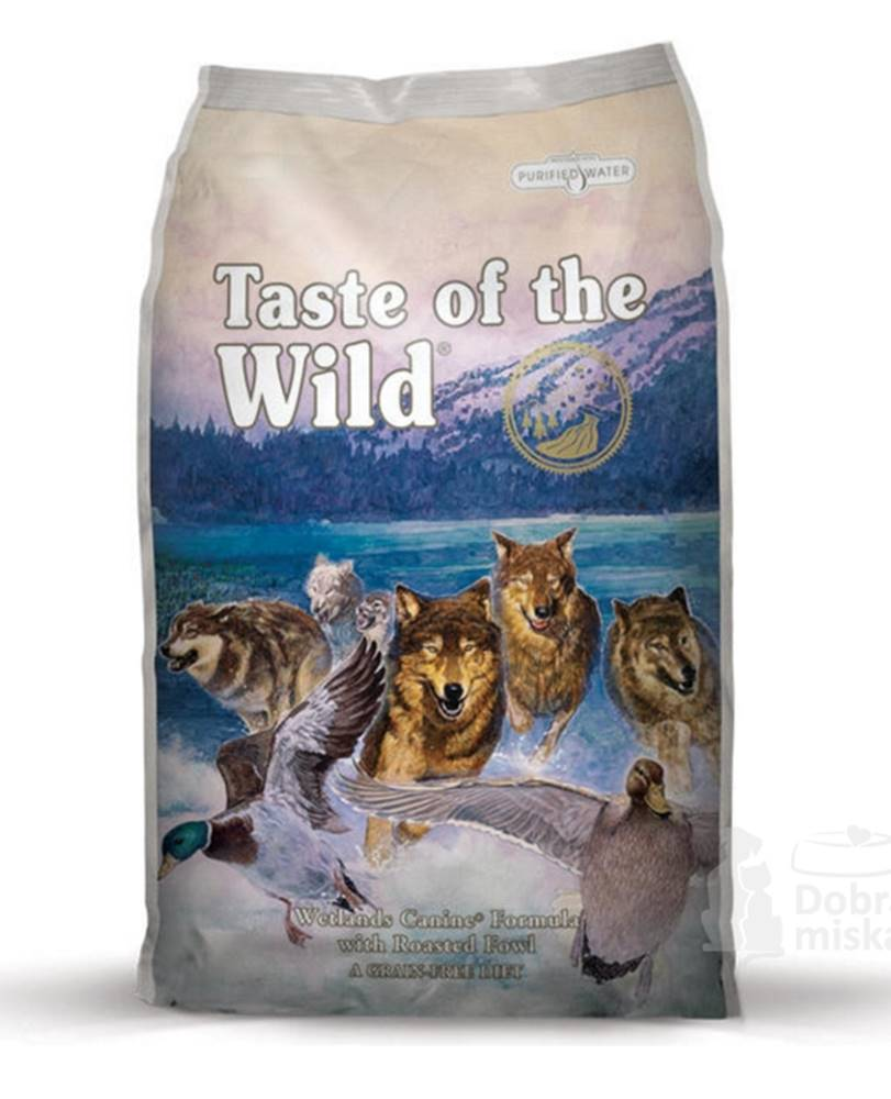 Taste of the Wild Taste of the Wild Wetlands Wild Fowl  2kg