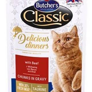 Butcher 's Cat Class.Delic.Dinn. hovädzie kapsa 100g