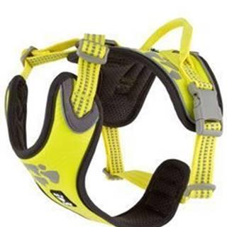 Postroj Hurtta Weekend Warrior neon citrónový 80-100cm
