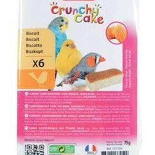 Sušienky vták Crunchy CAKE HONEY 6ks 75g Zolux