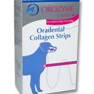 Orozyme enzym.plátky žvýkací pro psy M 141g