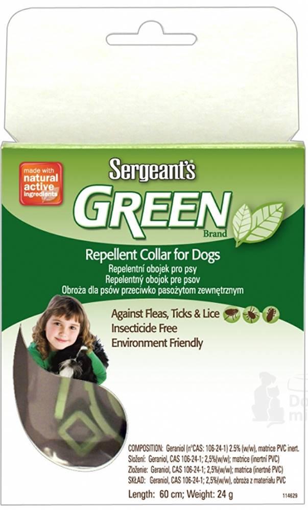 Sergeants Sergeants Green obojok pre psov 60cm 1ks