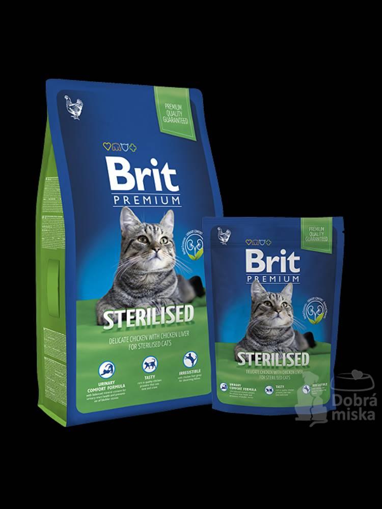 Brit Brit Premium Cat Sterilised 8kg NEW
