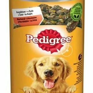Pedigree konzerva s hovädzím v želé 1200g