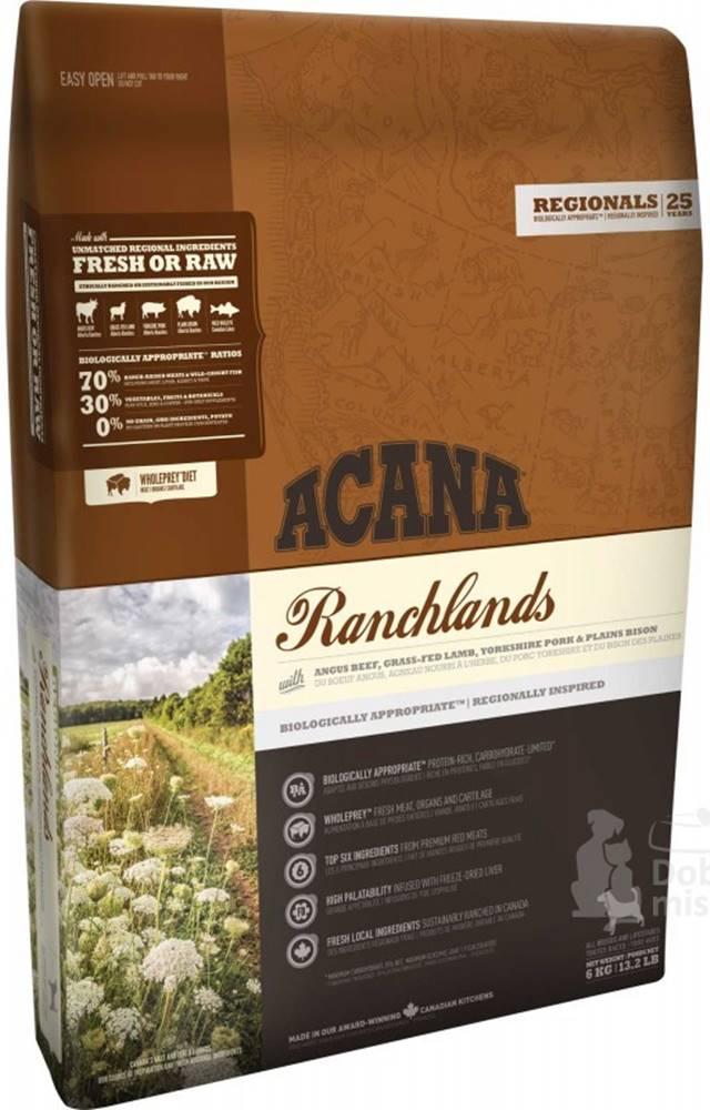 Acana Acana Dog Ranchlands Regionals 11,4 kg