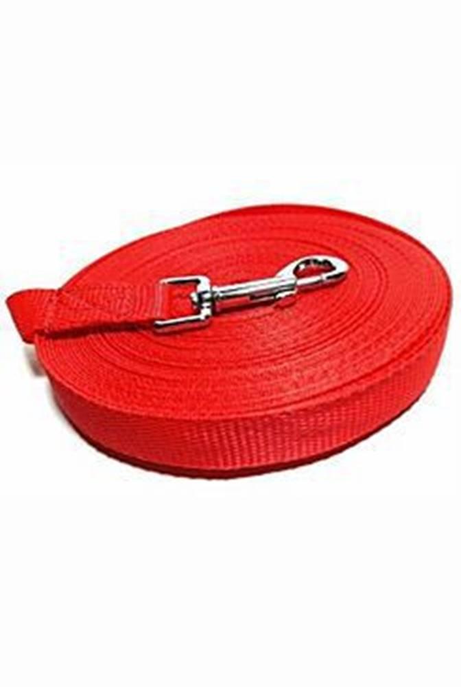 DINOFASHION Vodítko DINOFASHION stopovací ploché červené 5m/2cm