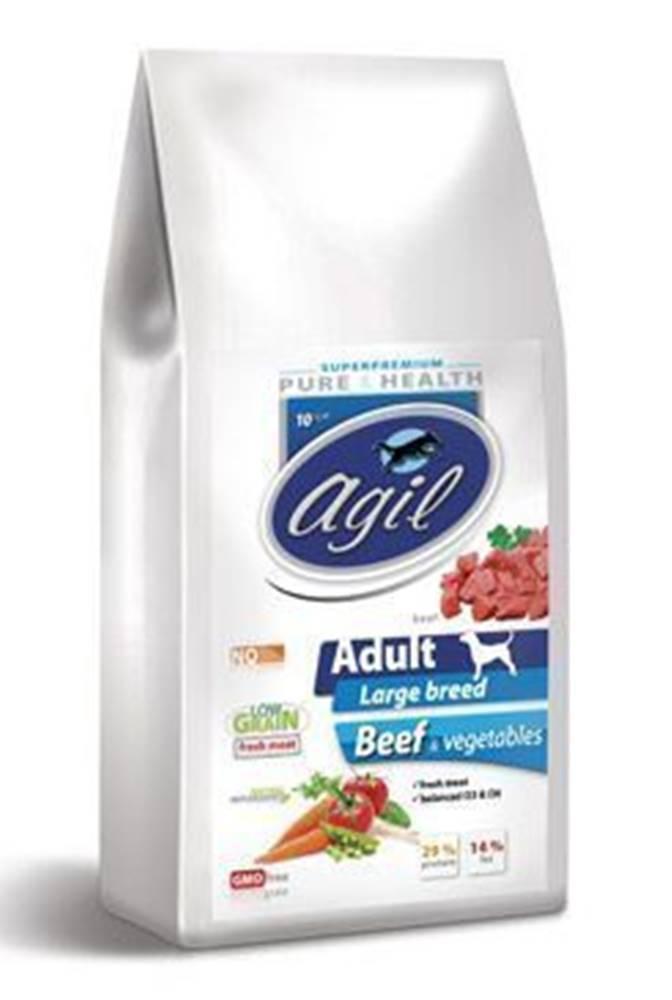 Agil Agil Adult Large&Giant, Low Grain Beef,Lamb 10kg