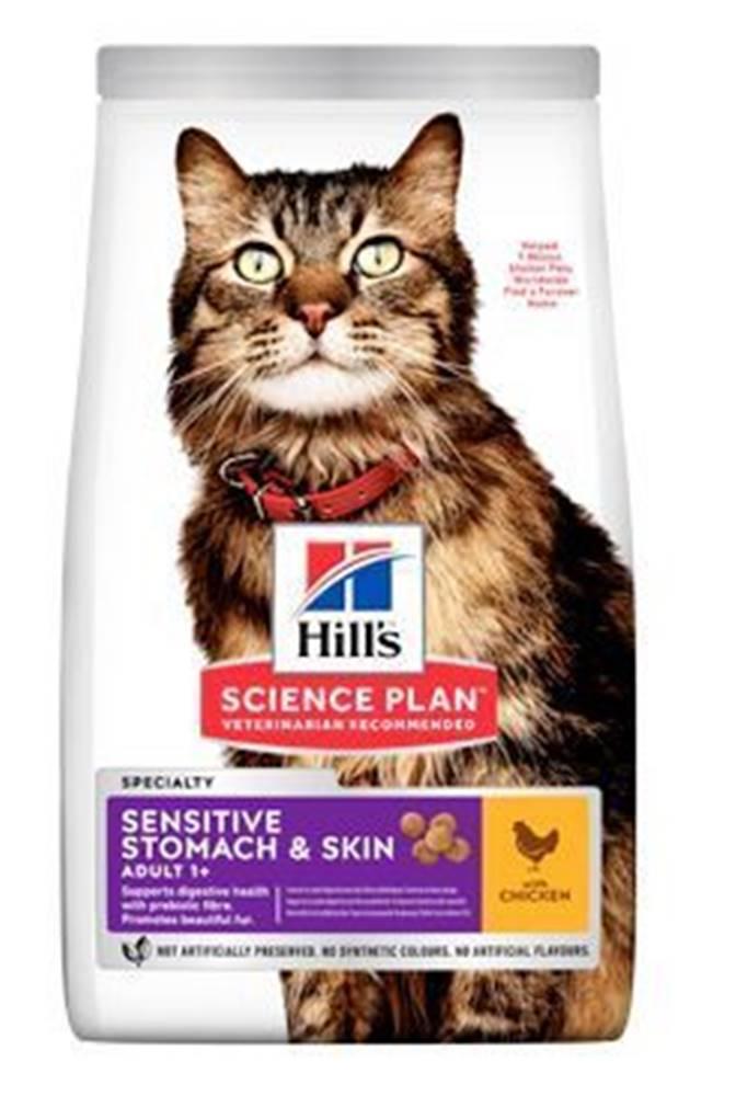 Hill's Hill's Fel. Dry Adult Sensit.Stomach&Skin Chicken 7kg