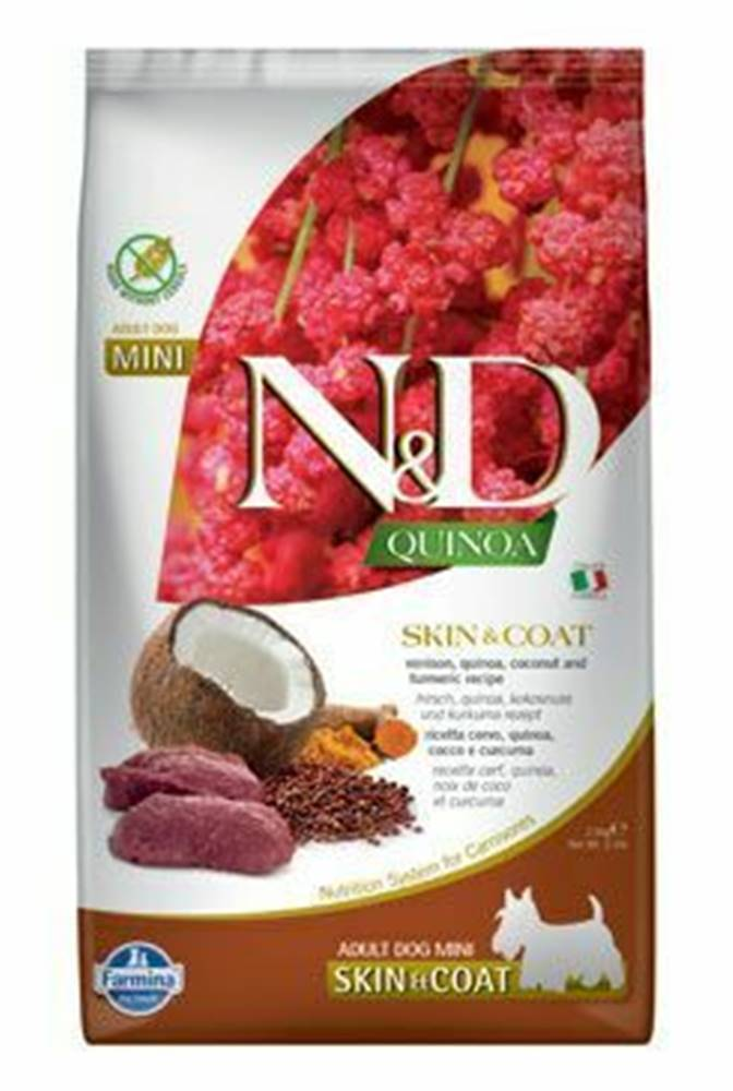N&D (Farmina Pet Foods) N&D Quinoa DOG Skin & Coat Venison & Coconut Mini 2,5g