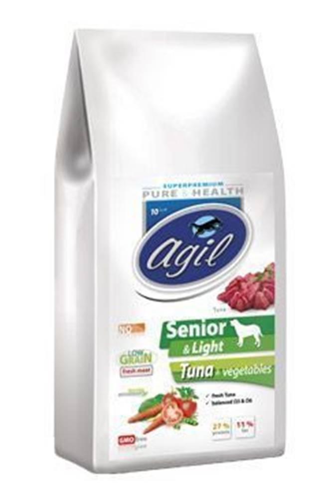 Agil Agil Senior&Light Low Grain,Tuna,Lamb,Chicken 10kg