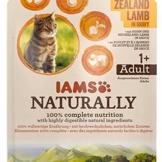 IAMS cat kapsa NATURALLY CHICKEN / new zealand lamb - 85g