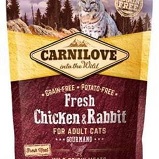 Carnilove Cat Fresh Chicken & Rabbit for Adult 400g
