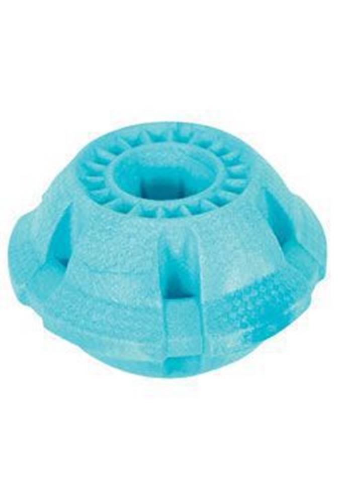 Zolux Hračka pes BALL MOOS TPR POP 8cm modrá Zolux