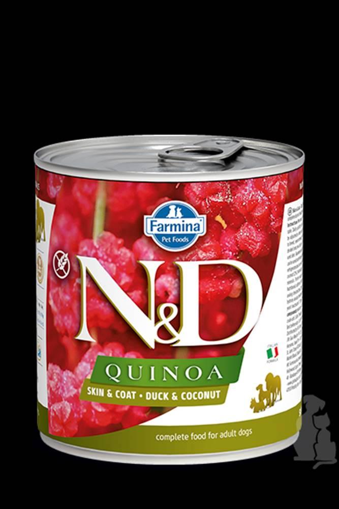 N&D (Farmina Pet Foods) N&D DOG QUINOA Duck & Coconut 285g