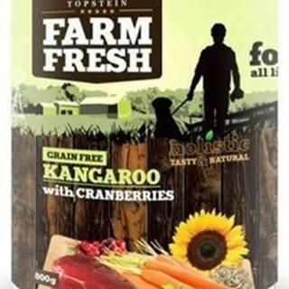 Farm Fresh Dog Kangaroo with Cranberries konzerva 800g