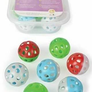 Hračka BOX Loptička Jingle 2-farebný 4cm / 7ks