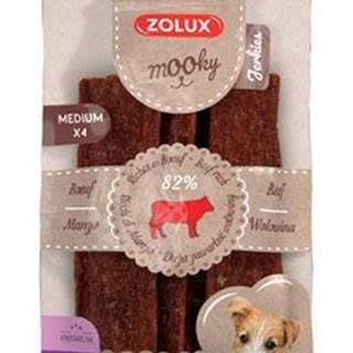 Pochoutka Mooky Premium hovězí M 4ks Zolux
