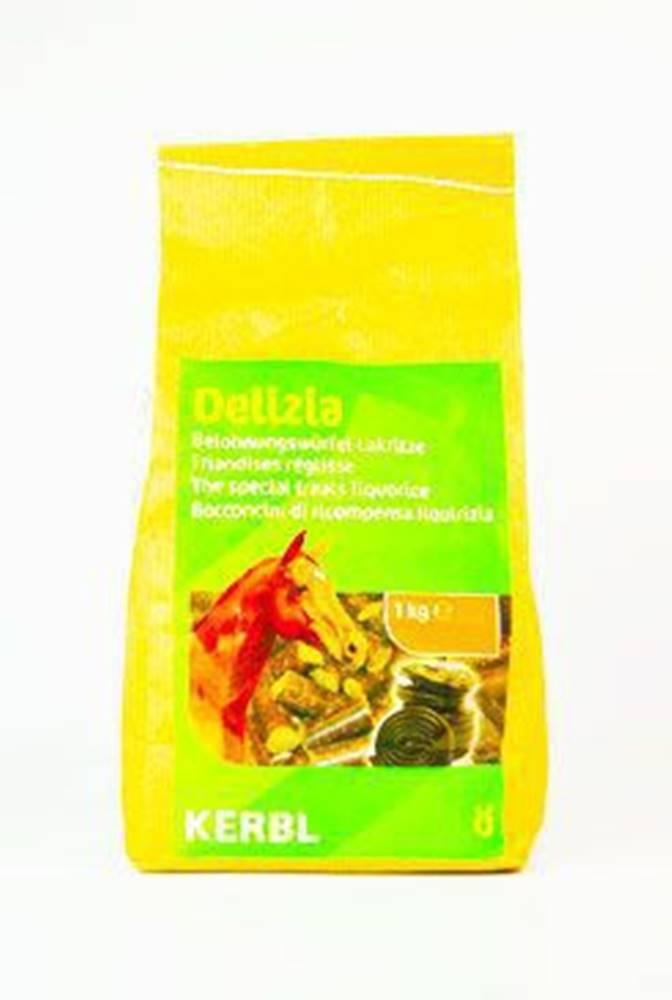 Ketris Pochoutka pro koně DELIZIA lékořice 1kg