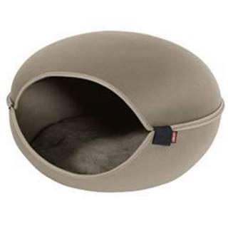 Pelech/domek pro kočky LOUNA hnědá Zolux