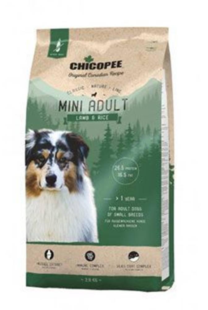 CHICOPEE Chicopee Classic Nature Mini Adult Lamb-Rice 2kg