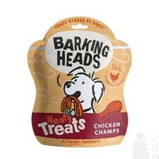 BARKING HEADS Meaty Treats Chicken Champs 100g