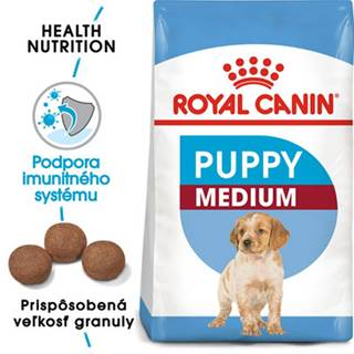 ROYAL CANIN Medium Puppy 15 kg granule pre stredné šteňatá