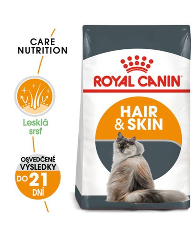 fera ROYAL CANIN Hair And Skin Care 2kg granule pre mačky pre zdravú kožu a srsť