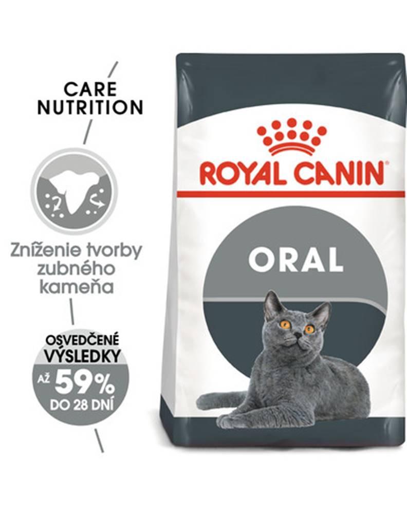 fera ROYAL CANIN Oral Care 8 kg granule pre mačky znižujúce tvorbu zubného kameňa
