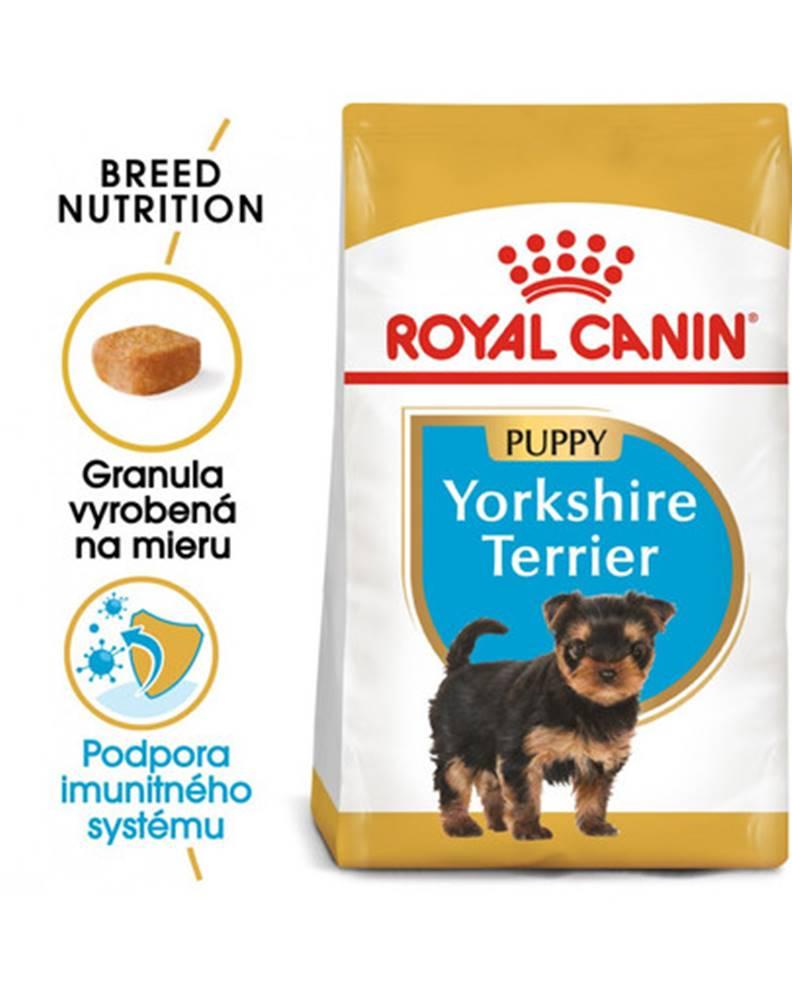 fera ROYAL CANIN Yorkshire Puppy 7.5 kg granule pre šteňa jorkšíra