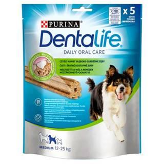 PURINA Dentalife Medium 6x115g (30ks) dentálne maškrty pre psov stredných plemien