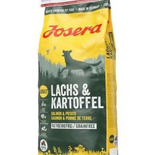 JOSERA Lachs & Kartoffel Adult losos a zemiaky 2 x 15 kg + Dr PetCare MAX Biocide Collar Obojok proti hmyzu pre stredných psov 60 cm