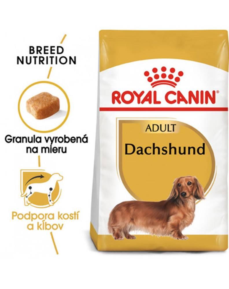 fera ROYAL CANIN Dachshund Adult 7,5 kg granule pre dospelého jazvečíka