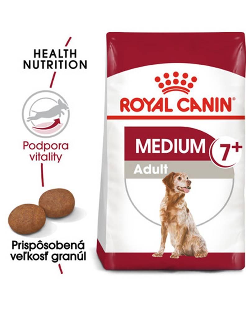 fera ROYAL CANIN Medium Adult 7+ granule 15kg pre dospelé starnúce stredné psy