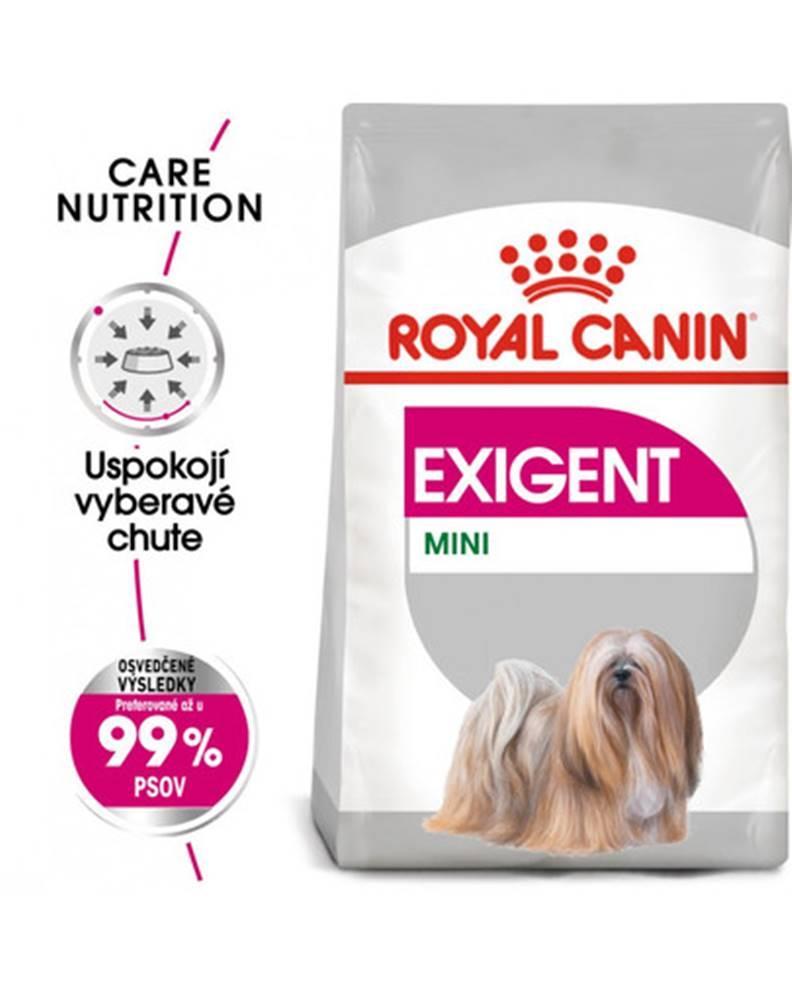 fera ROYAL CANIN Mini exigent 3 kg granuly pre maškrtné malé psy