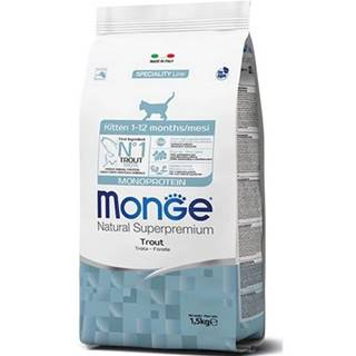 MONGE Monoprotein Kitten Pstruh 400g granule pre mačiatka