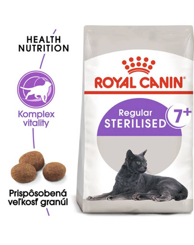 fera ROYAL CANIN Sterilised 7+ granule 10kg pre starnúce kastrované mačky