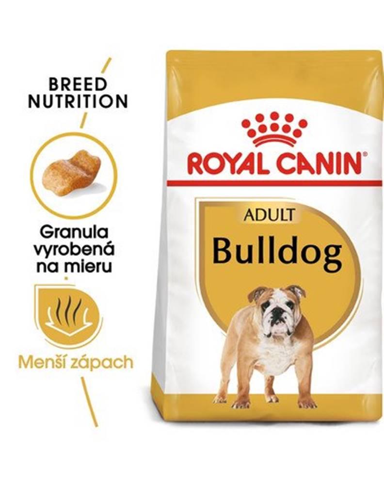 fera ROYAL CANIN Bulldog Adult 2 x 12 kg granule pre dospelého buldoga