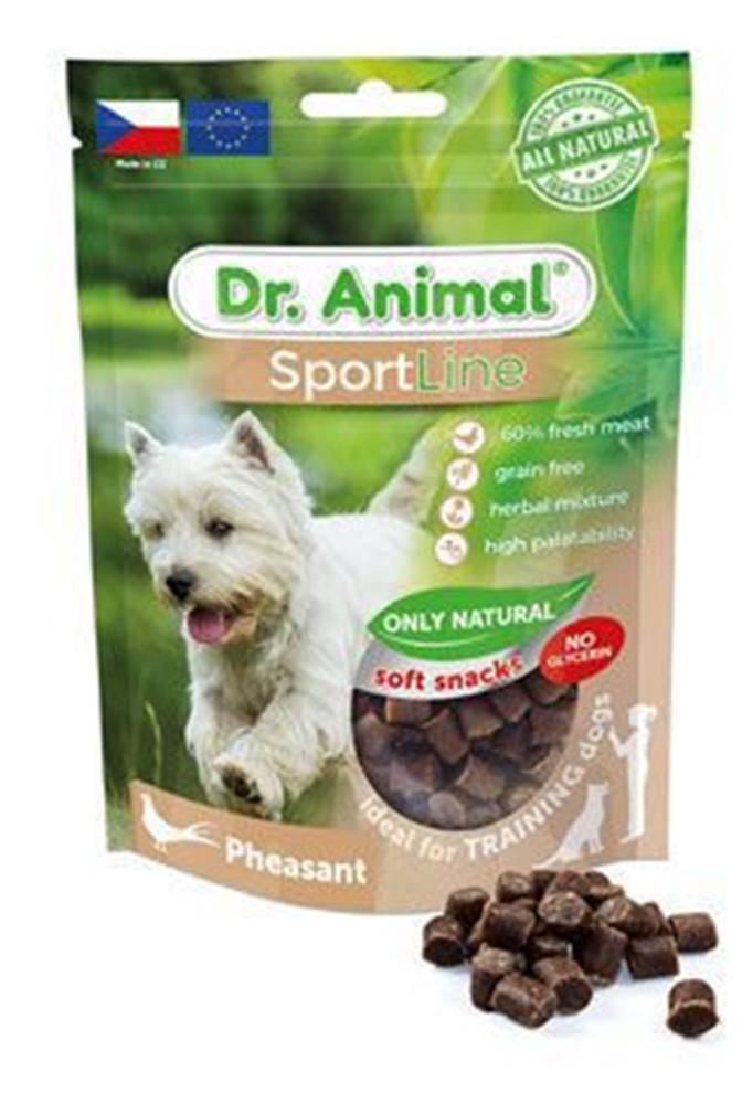 Ostatní Pochoutka Dr. Animal Sportline bažant 100g