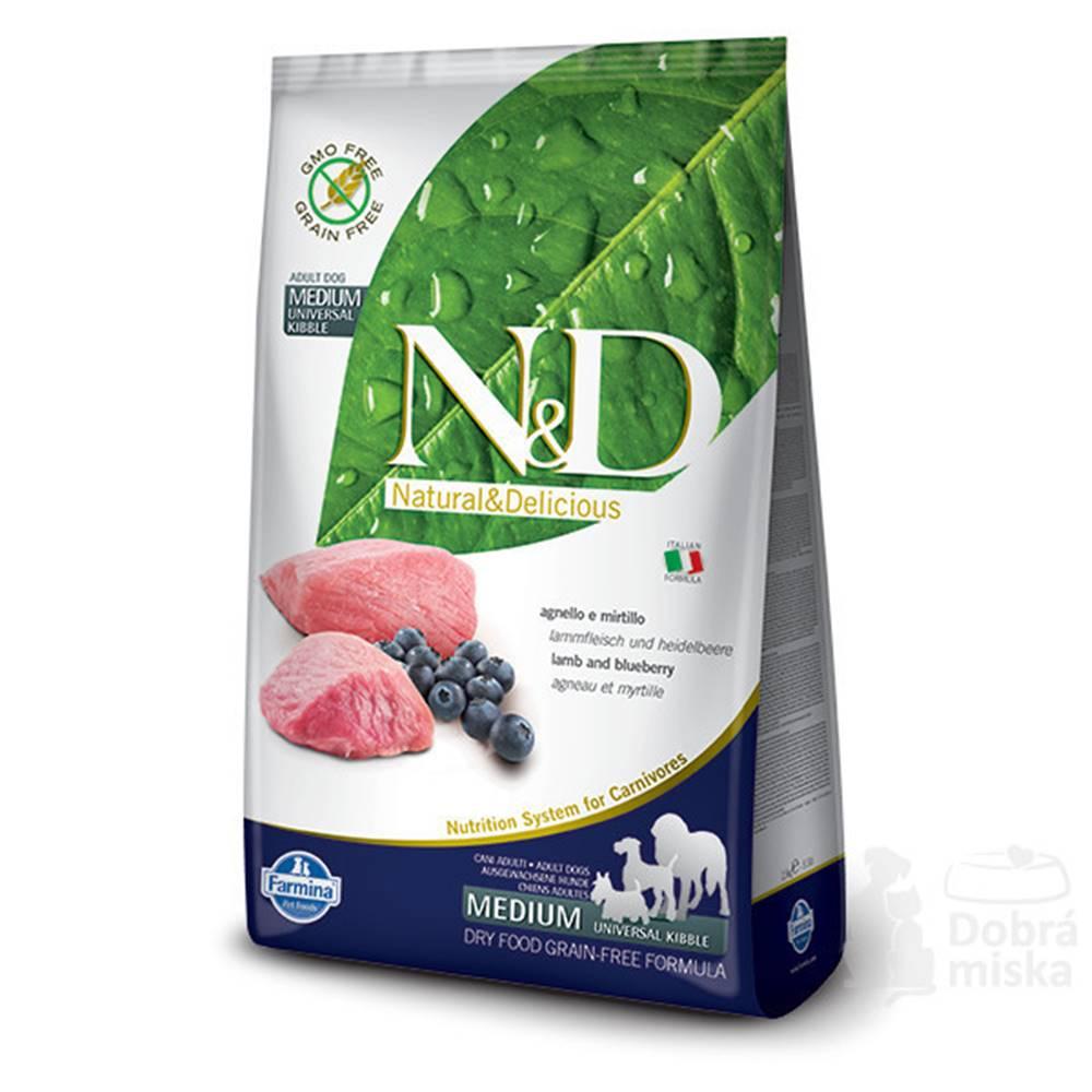 N&D N&D PRIME DOG Adult Lamb & Blueberry 2,5kg