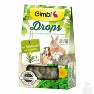 Gimbi Drops pre hlodavce s púpavou 50g
