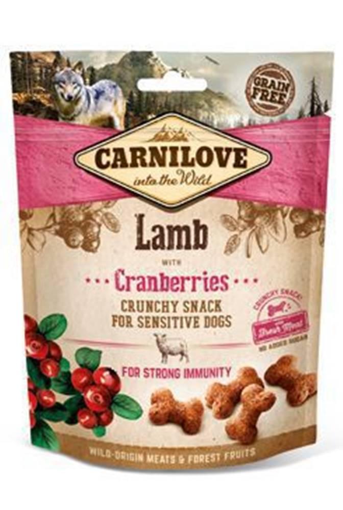 Carnilove Carnilove Dog Crunchy Snack Lamb&Cranberries 200g