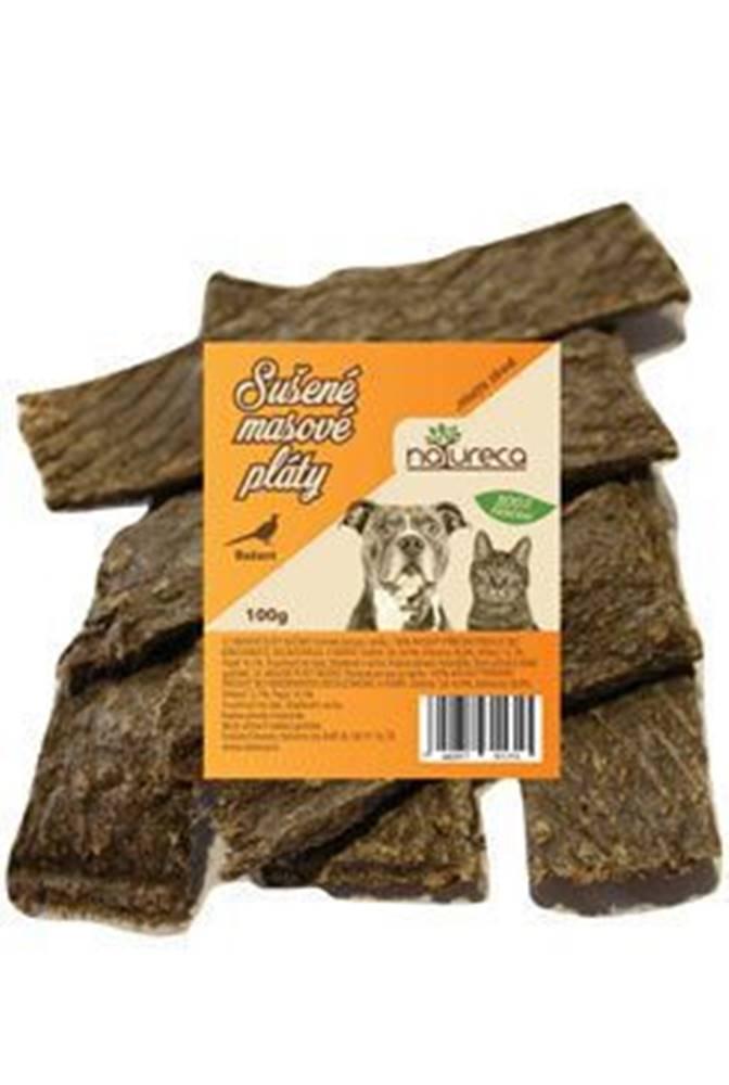 NATURECA NATURECA pochoutka Masové pláty-Bažant,  100%maso 100g