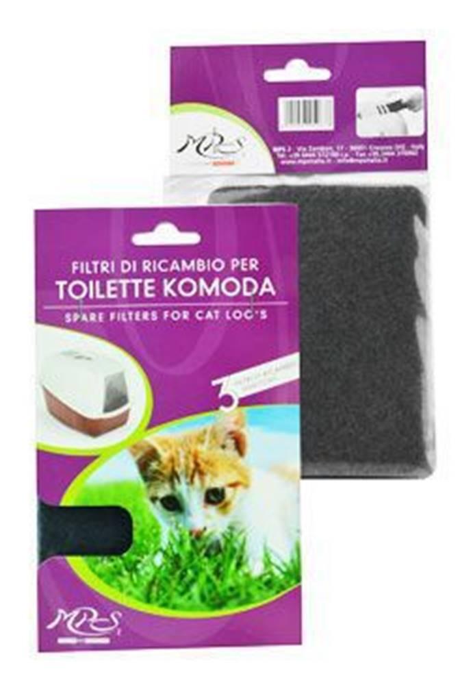 Tommi WC kočka NETTA náhradní filtr 3ks v bal.