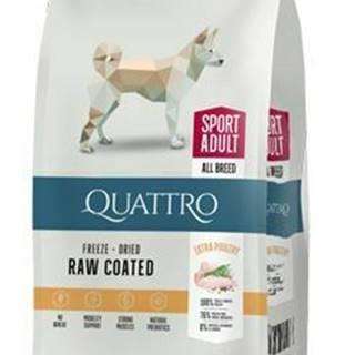 QUATTRO Dog Dry Premium All Breed ACTIVE Adult 3kg