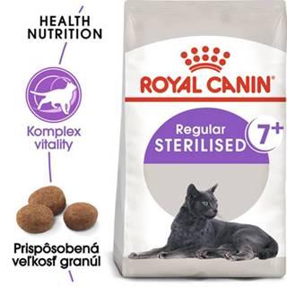 ROYAL CANIN Sterilised +7 2 x 10 kg granule pre starnúce kastrované mačky