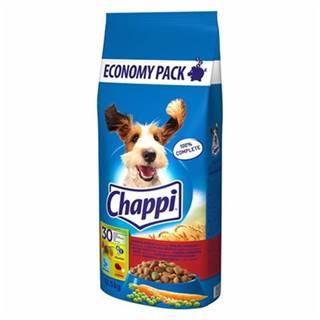 CHAPPI 27 kg - granule pre psov s hovädzím mäsom, s kuracím mäsom a zeleninou