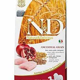 N&D Low Grain DOG Light Medium&Maxi Chicken&Pomeg 12kg